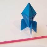Летающая ракета оригами (Mark Leonard)