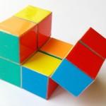 Куб бесконечности оригами, антистресс, Вариант 1