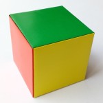 Модульный кубик оригами