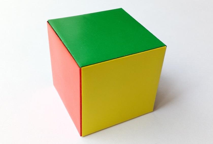 Модульный кубик оригами2