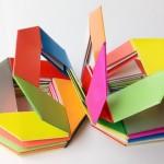 Радуга-пружинка оригами. Вариант 1