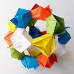 Кусудама Цветок оригами