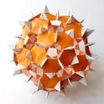 Кусудама Колючка оригами (Алексей Жигулёв)