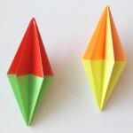 Как сделать ёлочную игрушку оригами