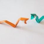 Как сделать змею Анаконду оригами