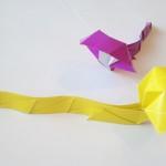 Кобра с капюшоном оригами