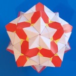 Кусудама Гора Фудзи оригами (Kankichi)